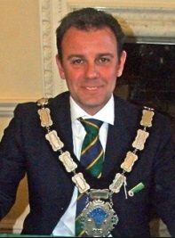 East Grinstead Mayor, Nick Hodges