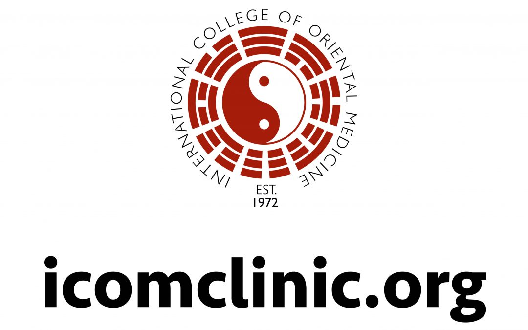 ICOM Acupuncture Clinic is open again!